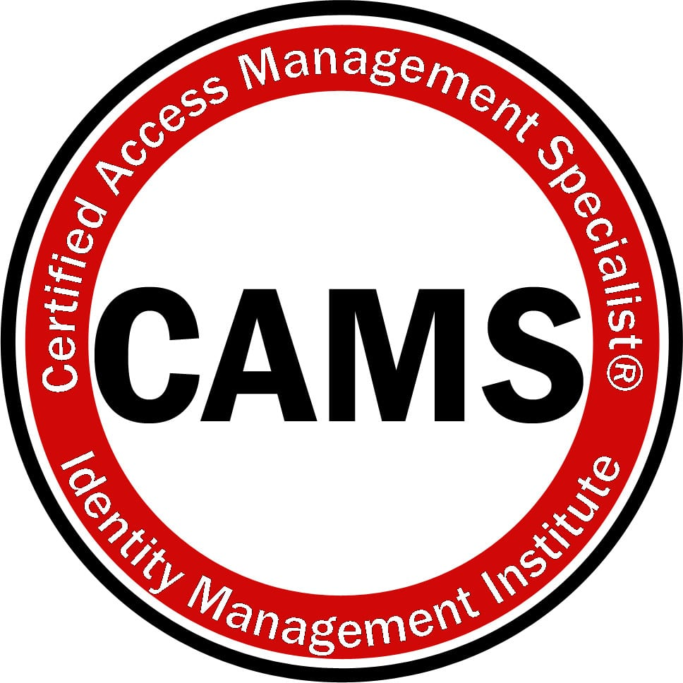 Certified Access Management Specialist Cams