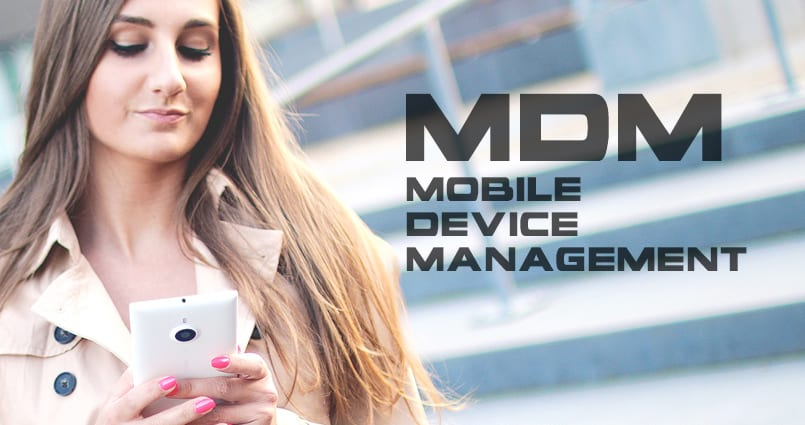 mobile device management (MDM) can greatly improve enterprise security