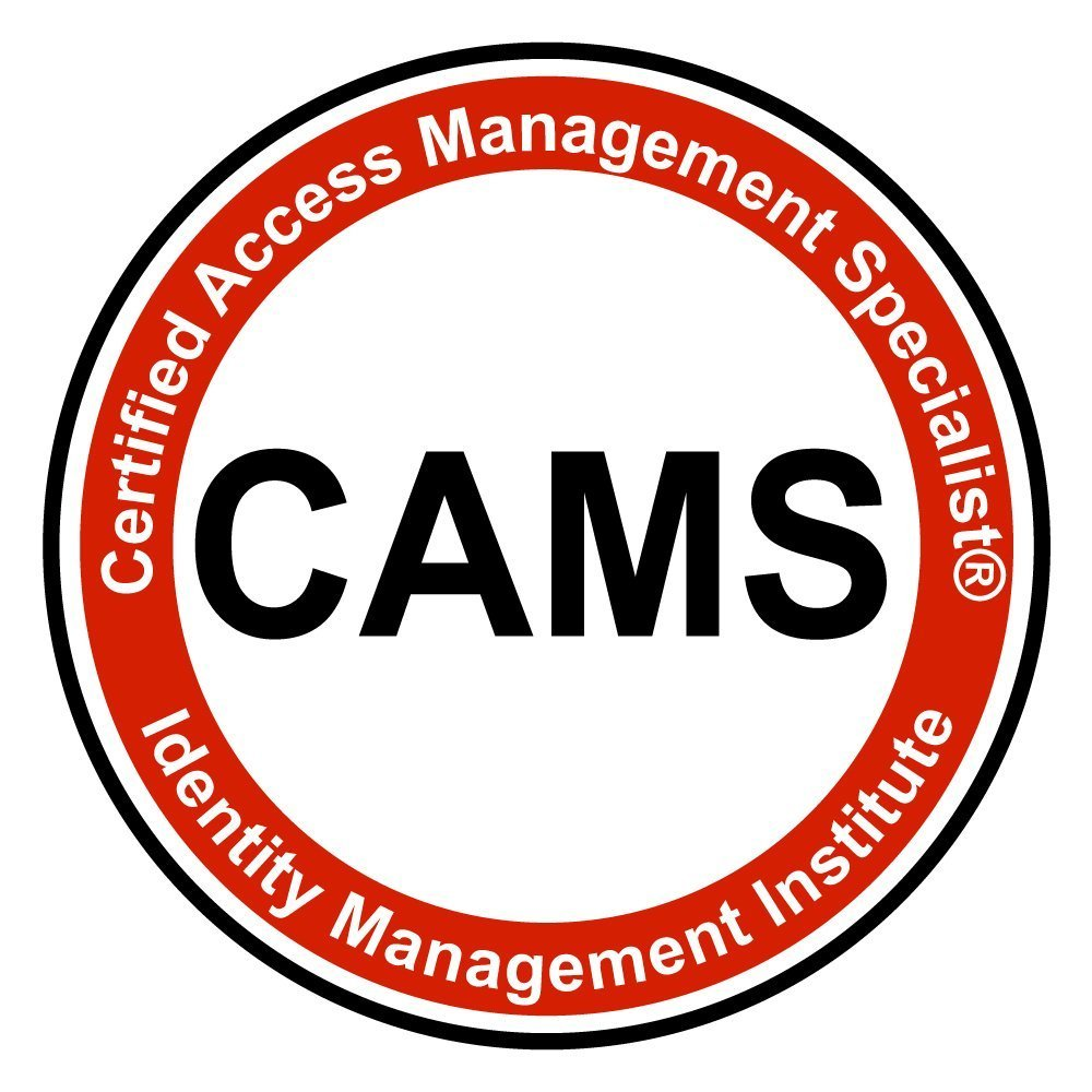 CAMS - Certified Access Management Specialist