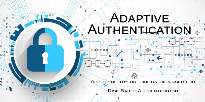 Adaptive Authentication is a risk based authentication which determines the appropriate combination of authentication methods to grant entities access based on various risk factors.