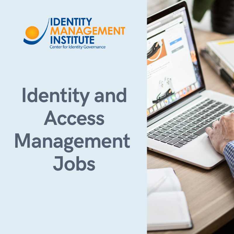 Identity and access management jobs and career path with certification courses from Identity Management Institute