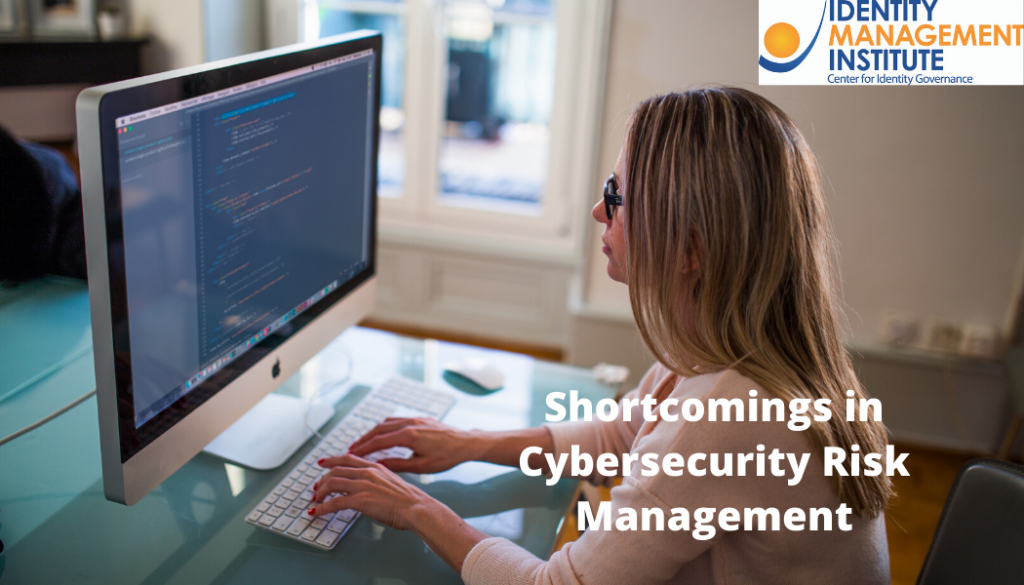 Shortcomings in cybersecurity risk management and best practices
