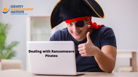 Ransomware victims must carefully decide how to proceed when dealing with ransomware pirates.