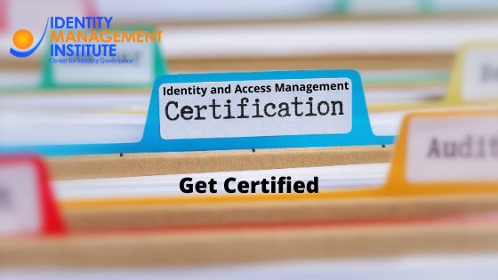 Identity and access management certifications by Identity Management Institute