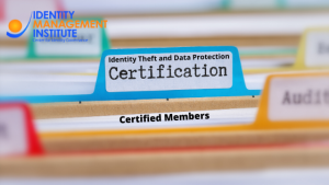 Identity theft and data protection certifications by Identity Management Institute