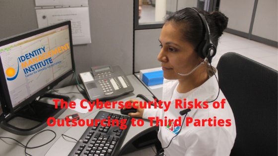 Data breach dangers and cybersecurity risks of outsourcing to third Party service providers.